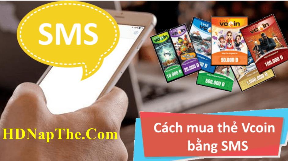 cách mua thẻ vcoin bằng sms viettel