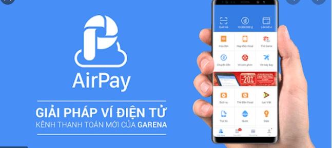 Cách Nạp Tiền Vào Ví AirPay