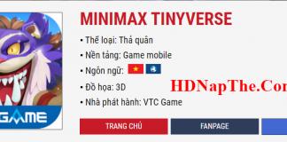 nap minimax tinyverse