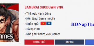nap the samurai shodown vng min