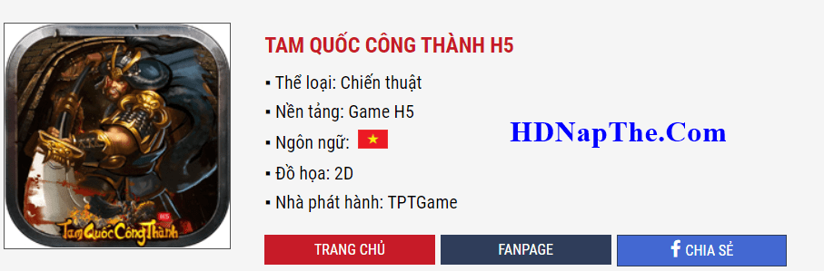 nap the tam quoc cong thanh min