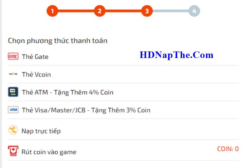Nạp game Tam Anh Thủ Thành